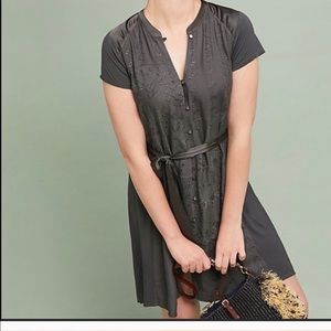 NWT Anthropologie stone harbor shirt dress